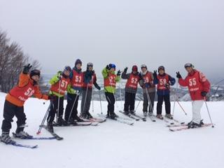 1:22学校スキー