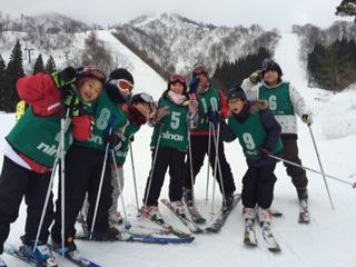 1:23学校スキー